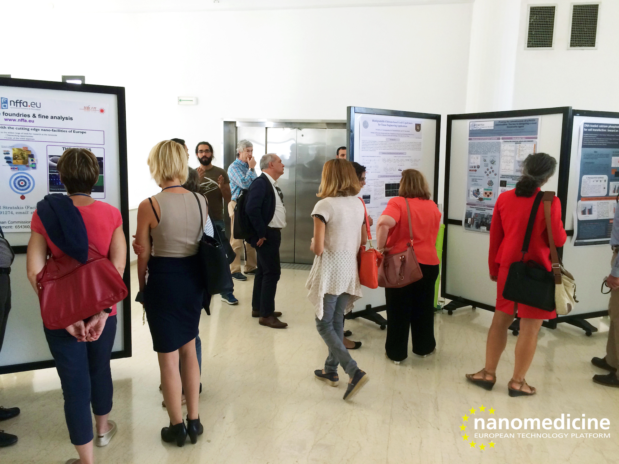 ETPN2016 - Poster session at FORTH 1